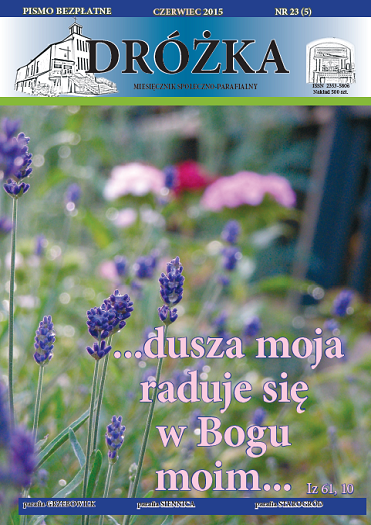 Okładka: DRÓŻKA ( nr 23 ) - Czerwiec 2015