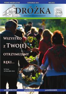 Okładka: DRÓŻKA ( nr 25 ) - Listopad 2015