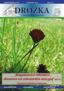 Okładka: DRÓŻKA ( nr 28 ) - Czerwiec 2016